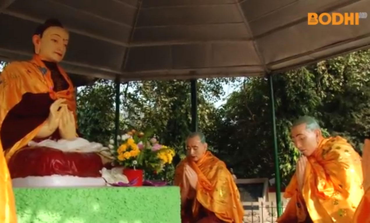 One of four major shrines of Buddhism.